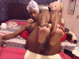 Sexy Black Girl on Webcam