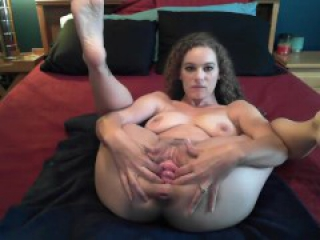 Gaping pussy and cervix show!