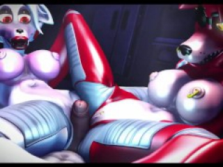 FNAF THREESOME (Straight Furry Yiff) {CavaFly01} FNAF PORN