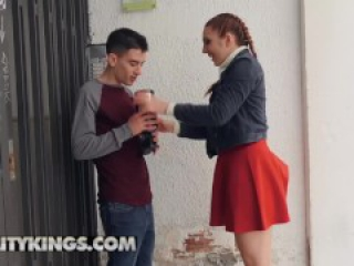 Reality Kings - Horny teen Pamela Sanche loves Huge cocks