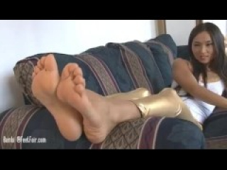 older asian big sexy feet
