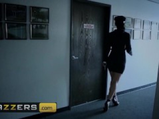 Brazzers - Campus Security protects coeds and takes a dick for the team